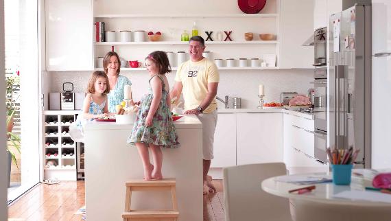 Kid Friendly Kitchen Design Tips