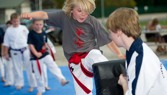 martial arts training benefits for kids
