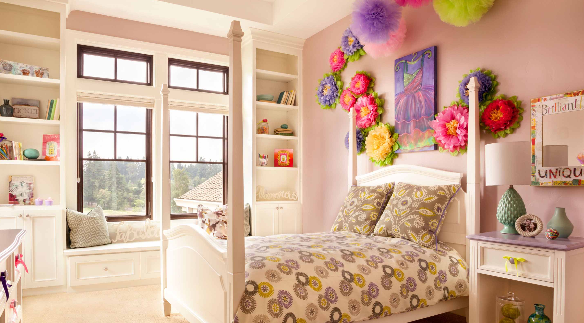 Decorating your little girl's bedroom